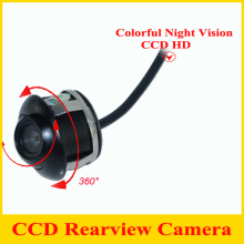 Factory Promotion CCD HD night vision 360 degree car rear view camera front camera front view side reversing backup camera