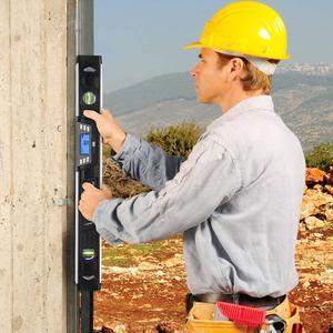 Image 5 - Elettronico di Livello Digitale Inclinometro Goniometro Angle Finder 40cm/60 centimetri A CRISTALLI LIQUIDI Dello Schermo Magneti Nivel di Livello Digitale da PROSTORMER