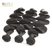 Bliss Hair Body Wave Brazilian Hair Weave 3 Bundles 210 gram 8-30 inch Deals Human Hair Bundles 100% Remy Hair Extensions(China)
