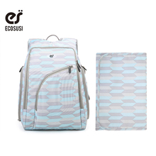 ECOSUSI Multifunctional Baby Diaper Backpack Bag Maternity Mother Lager Capacity Nappy Changing Stroller