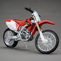 Freeshipping Maisto Diecast Metal Moto HONDA CRF 450R 1/12 Motocicletas Modelo de Juguete Para Los Niños
