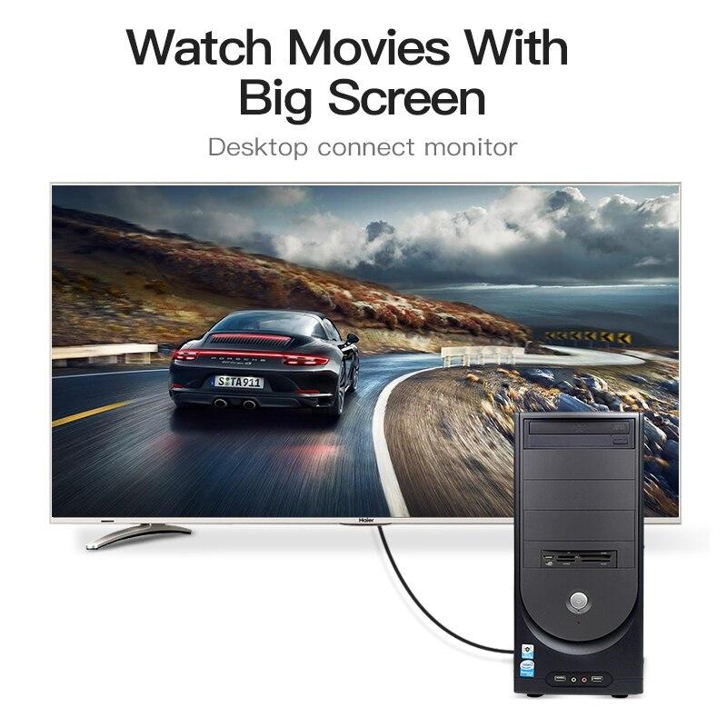 Ventie HDMI Kabel Glasvezel HDMI 2.0 Male Naar Male Kabel Ondersteuning 4 K 3D voor HD TV LCD Laptop PS3 Projector Computer Kabel - 6
