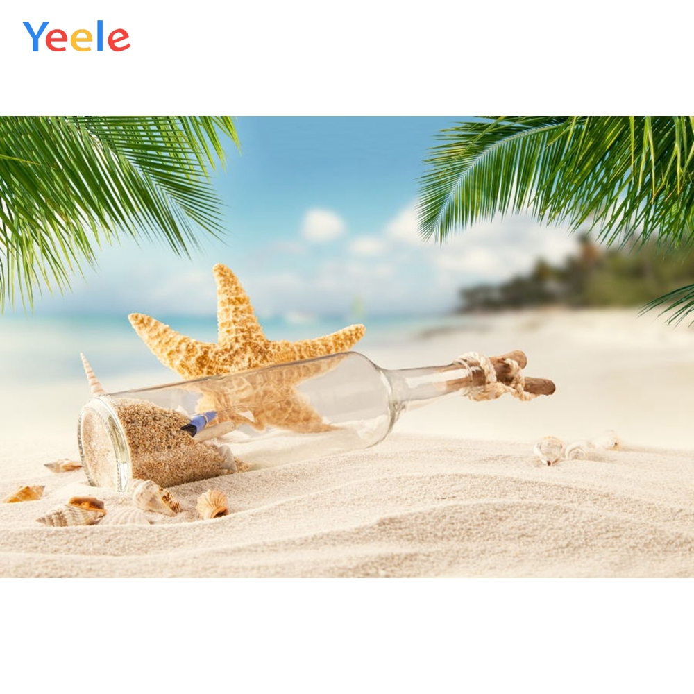 Yeele Photography Backgrounds Drifting Battle Starfish Backdrop Summer Beach Portrait Photographic Backdrops For Photo Studio in Background from Consumer Electronics