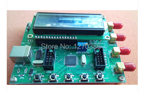 Free Shipping!!! 1pcs AD9850 Module DDS Signal Generator AD9851 sweep  function LCD PC control module