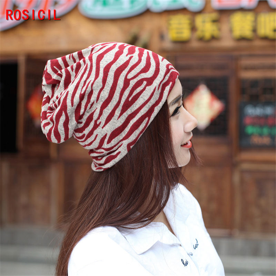 ROSICIL skullies beanies Winter Hats for Women Letter Beanies Women Hip-hot Caps Skullies girls Gorros women Beanies Female skullies