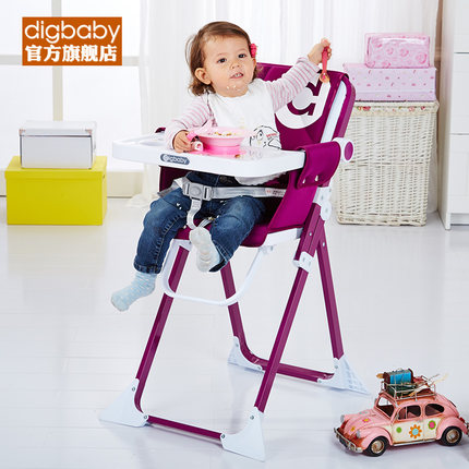 Detachable high quality fabric metal baby dinning high chair foldable child dinning seat many colors available actionclub idea design high quality baby chair