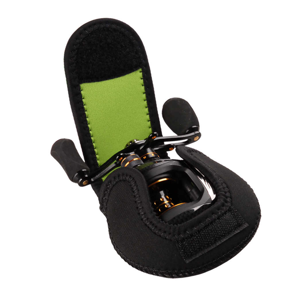TSURINOYA مقاوم للماء baitcast الصيد بكرة واقية غطاء غلاف للهاتف التخزين المحمولة حقيبة المياه المالحة الصيد