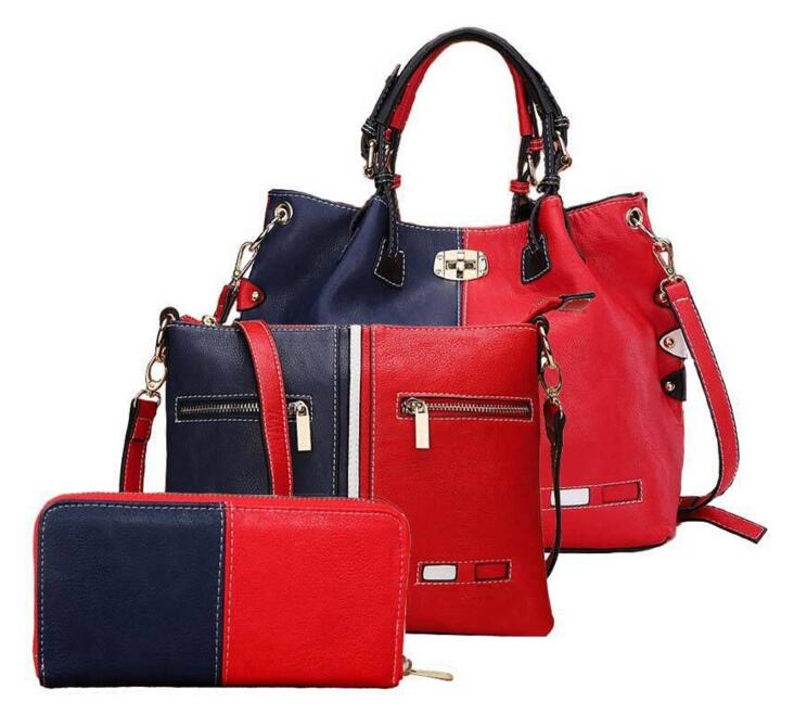 3 Bags Set Women Classical Guilted Handbags Genuine Leather Fashion Shoulder Messenger Female Tote Clutch Lash Package In Top Handle From Luggage