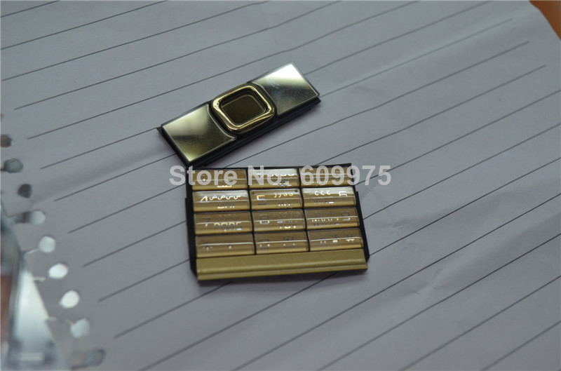 For Nokia 8800A 8800 arte navigation key numeric key cover housing fascia for Nokia  8800 Arte 8800A gold for free shippingFor Nokia 8800A 8800 arte navigation key numeric key cover housing fascia for Nokia  8800 Arte 8800A gold for free shipping