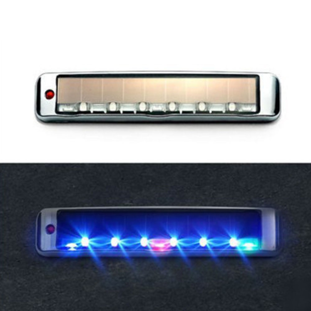 Anti Collision-Car Styling Auto Car Door Lights LED Solar Flashing Atmosphere LED Warning Lamp Lamp Movement Control Lamp
