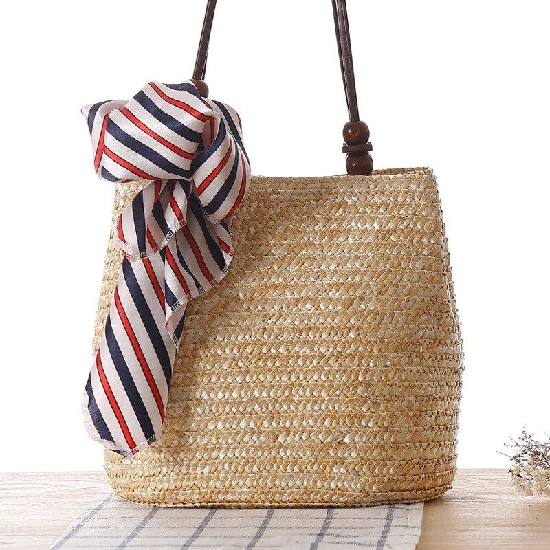 Paglia Handmade Borse Di Sacchetto Spalla Vacanza Qualità Kojn014 1 Donne Gratuita 3 Miwind Del Modo Spiaggia Delle 2 Tessitura Da Spedizione Alta t8a0E7wqa