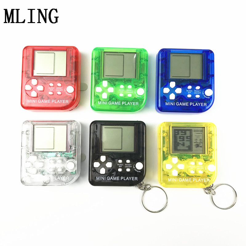 2019 Tetris Game Console Handheld Game Console Mini Toy Game Console Electronic Toy