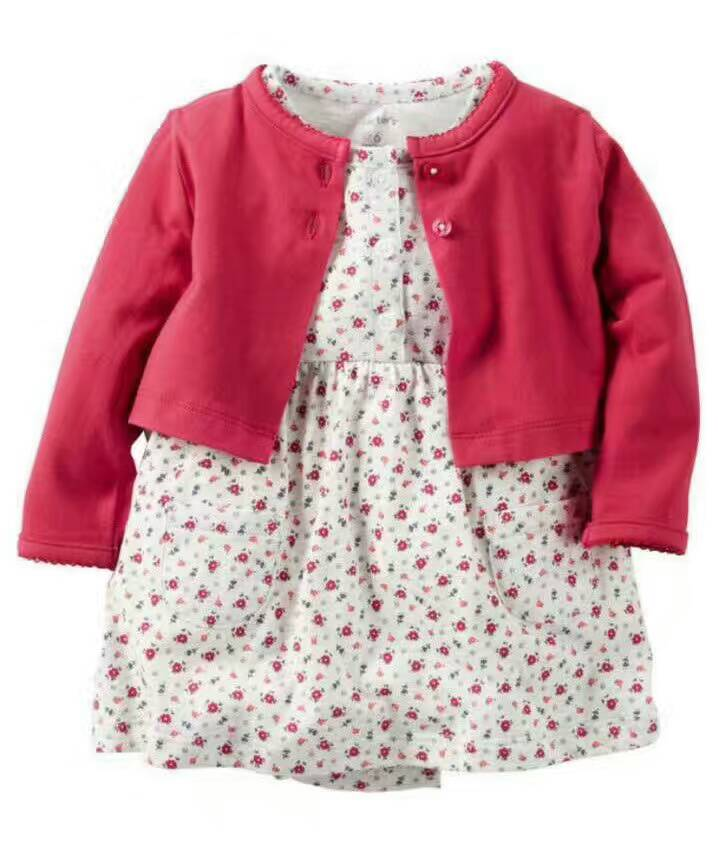 2018 Limited Sale Solid Neonatal Dress 0-2 Year Old Baby Girl Shirt Piece Body Clothes Maker, Spring And Summer Shawl Shawl.