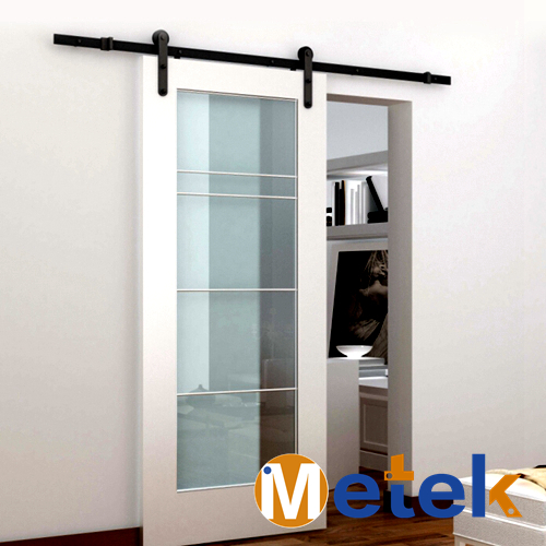 METEK]Modern Interior barn sliding door hardware-in Doors from Home ...