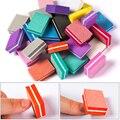 Мини-пилка для ногтей MEET ACROSS  50 шт./компл.  цветные губки для ногтей  полировальные полоски  маникюрный маникюр с полировкой  инструменты