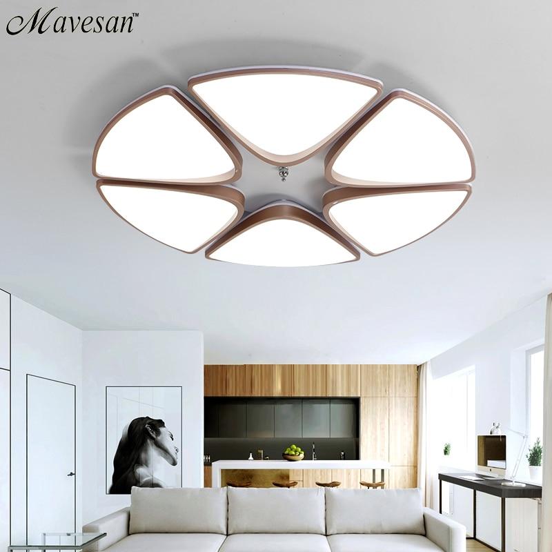 Moderne plafonniers éclairage intérieur led luminaria abajur moderne led plafonniers pour le salon lampes pour la maison AC100-265V