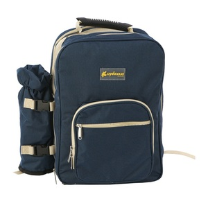 Image 5 - Outdoor Camping Portable Shoulder Picnic Bag Picnic Backapck Rucksack BBQ Tool Package 4 Persons