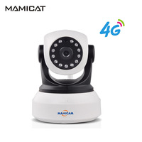 Indoor 3G 4G SIM Card Camera Wifi IP Cameras Wireless CCTV Surveillance Home Security Support PTZ GSM P2P Night Vision 1080P 2MP