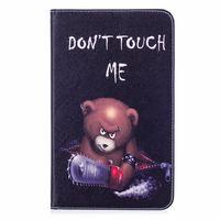 leather flip Fashion Animal Owl Bear Flip PU Leather Case For Samsung Galaxy Tab A 8.0 T380 T385 2017 8.0 inch Smart Cover Cases Funda Shell (3)