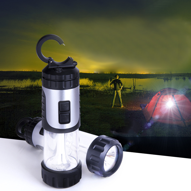 LumiParty Mini Portable Flashlight Plastic Hand Power Emergency Lights Generation Environment-Friendly Outdoor Torch Lamp solar shaking little duck environment friendly ornamentation