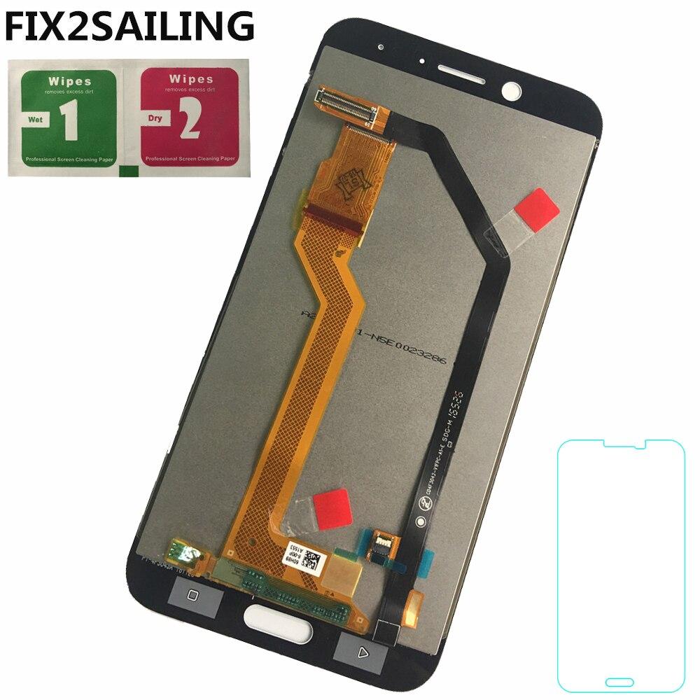 Pour HTC 10 EVO Boulon Écran lcd + Tactile Digitizer Écran verre de Remplacement Assemblée 5.5 pouce 2560*1440