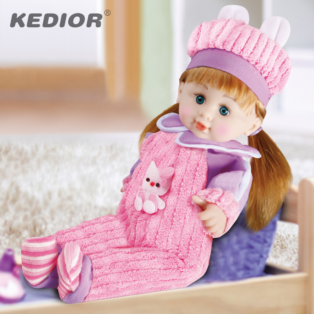 17.8 Baby Doll Pink Clothes Long Hair Fashion