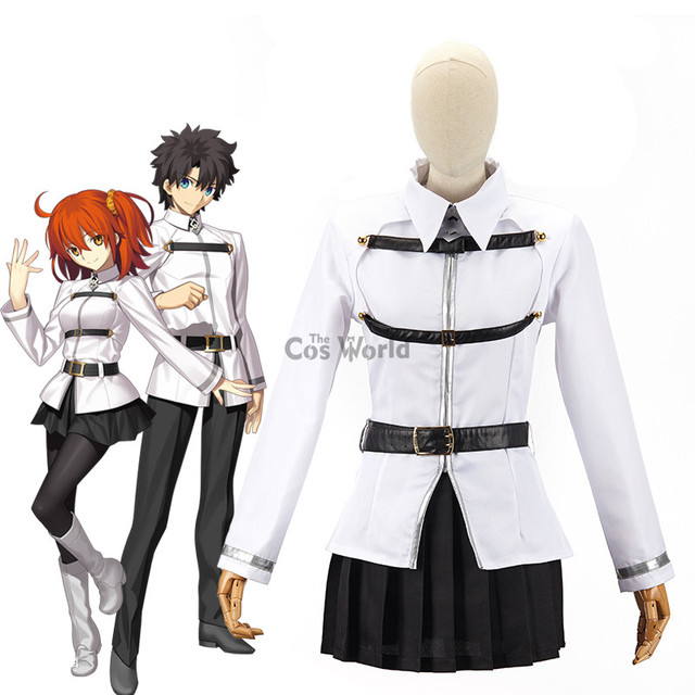 Details about  /Anime Fate Grand Order Masters Cosplay Costume Female Uniform Suit Custom Made
