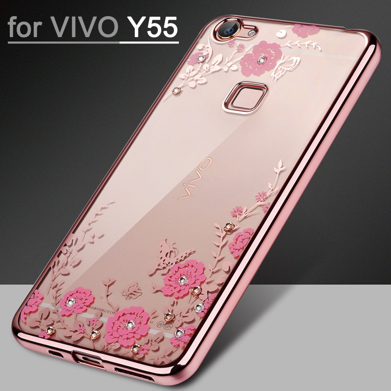buy popular 0fda2 098de Luxury Case for BBK vivo Y55 Case Cover 5.2