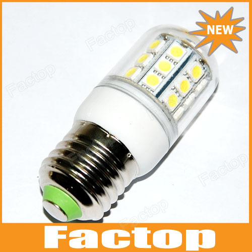 E27 5.5W 3000-6500K 360-Lumen 30 x 5050 SMD LED Warm White, White Light Bulb (220V)