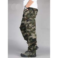 Men Camouflage Army Pants Casual Cargo Trousers For Men Mens Military Clothing Urban Pants Overalls