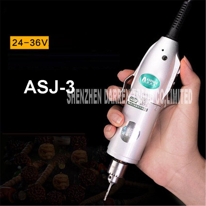 ASJ-3 Mini Perceuse Électrique Broyage Accessoires Ensemble Multifonction Machine De Gravure Électrique Outil kit 9000-14500 RPM 220 V/110 V