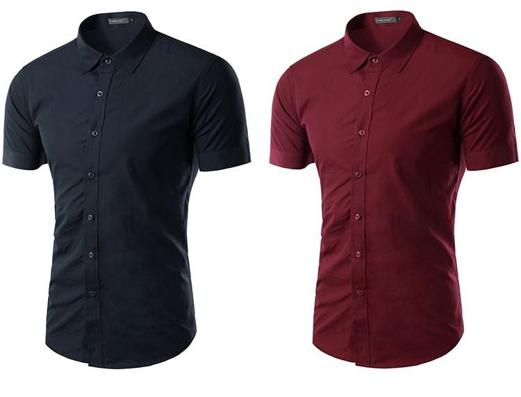 camisa social manga curta, camisa social manga curta azul, camisa social manga curta vinho, camisa social manga curta vermelho, camisa social manga curta vermelha