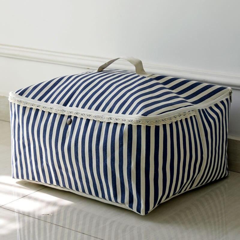 Складной органайзер гардероба Большой сумка для хранения хлопок портативный дорожный органайзер для одежды органайзер для постельного бе