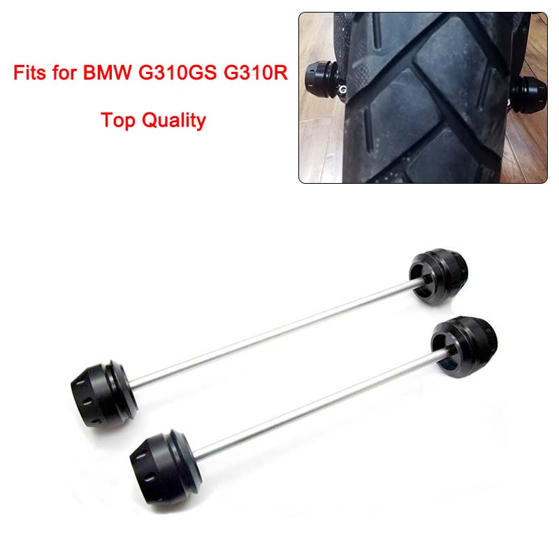 Free Shipping for BMW G310GS G310R Front Rear Axle Fork Protector Slider Wheel Drop Falling Protection Anti-drop Ball