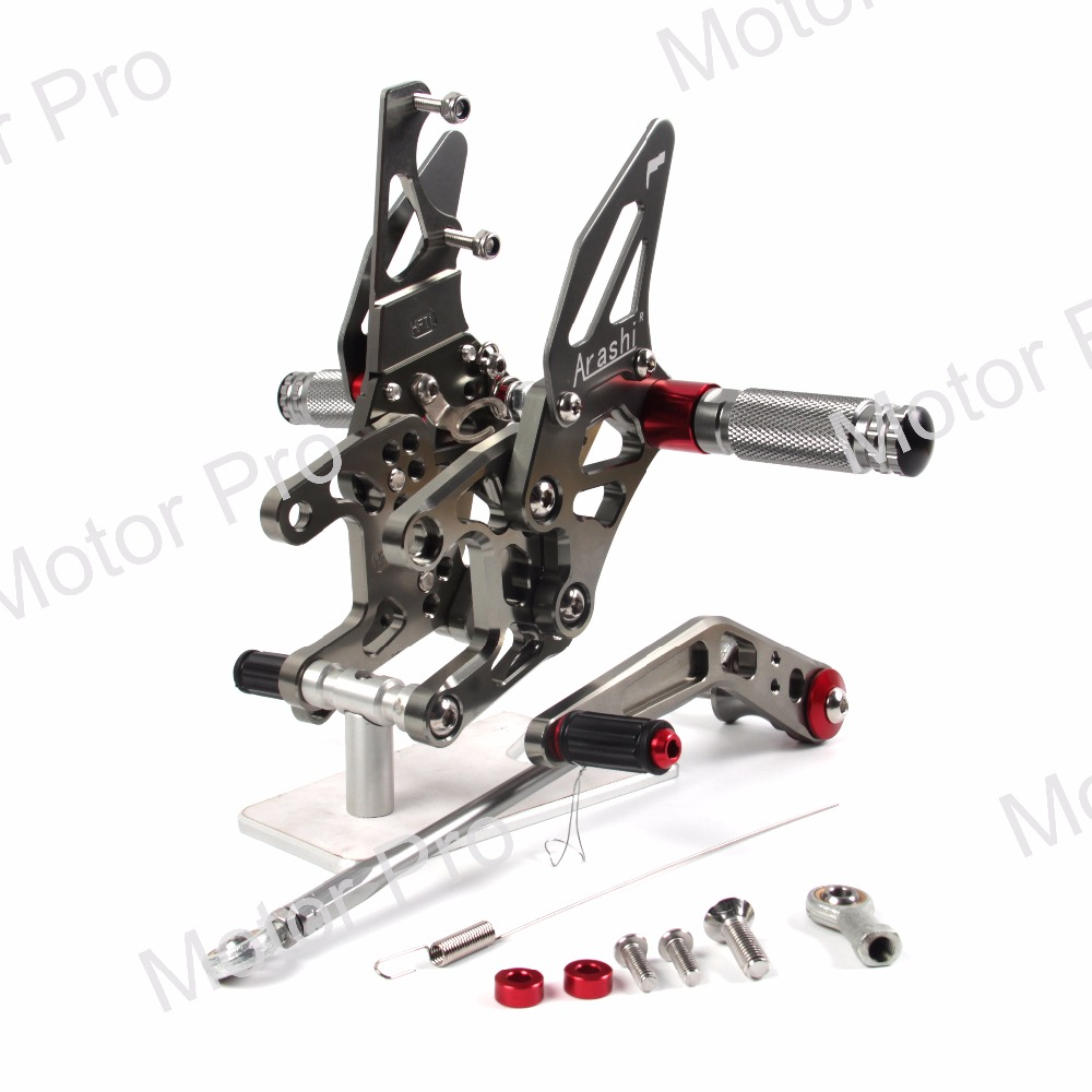 Réglable Repose-pieds POUR Honda CBR1000RR 2012-2017 Moto Accessoires Pied Peg Rearset Pédale CBR 1000 RR CBR1000 1000RR