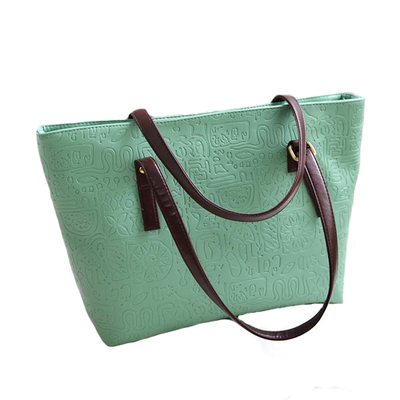 Women Bags 2017 New Arrival Women Handbags Cheap Shoulder Bag Leather Candy Shopping Tote Bag Bolsa Feminina