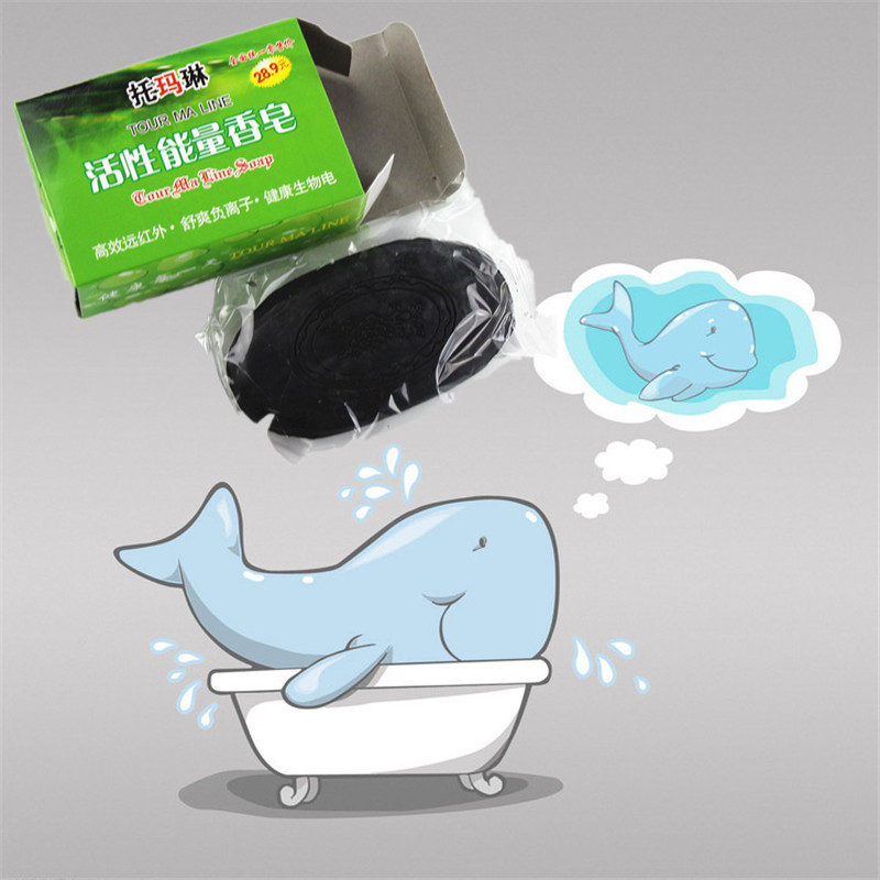 2019 Cheapest Hotest Newest China Bamboo Charcoal Soap 4 Skin Conditions Acne Psoriasis Seborrhea Eczema Anti Fungus 60g