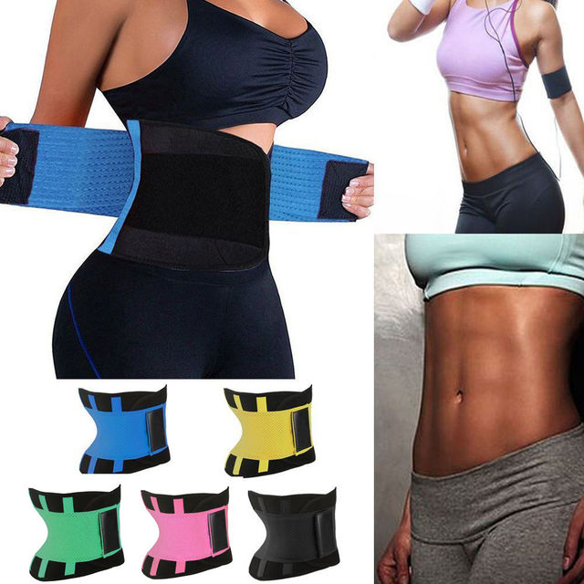 d82081e2df2 Women Waist Trainer Belt Belly Band Belts Hot Body Shaper After Birth Slim Belt  Corset Postpartum Tummy Trimmer Body Fat Burne-in Waist Cinchers from ...