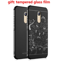 Original Simple Silicon Phone Cases For Xiaomi Redmi Note 4x Note 4 Pro Prime Back Covers