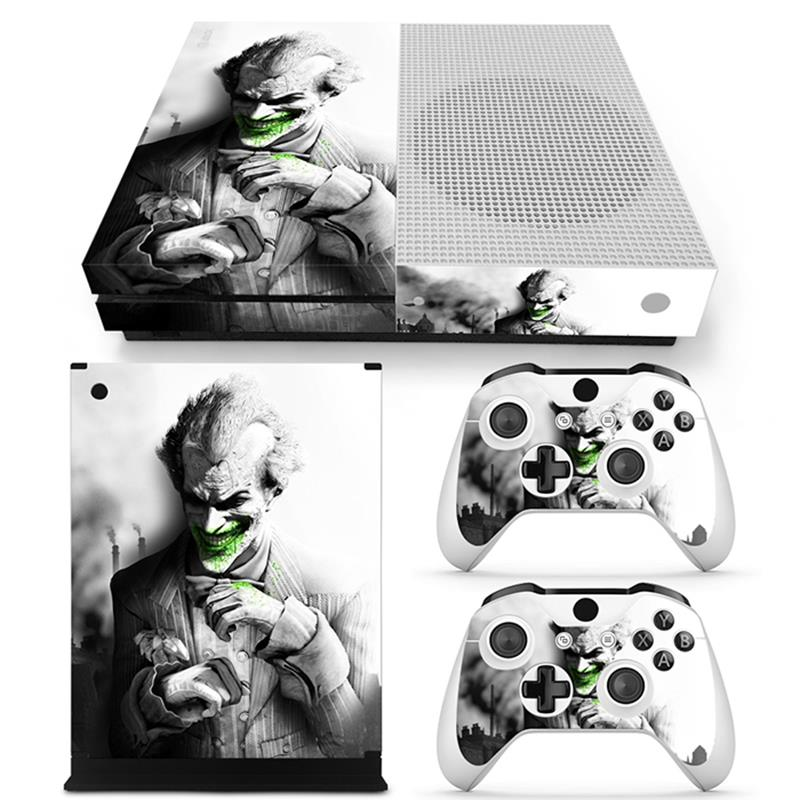 Faceplates, Decals & Stickers Video Game Accessories Motivated Batman Xbox One S 3 Sticker Console Decal Xbox One Controller Vinyl Anime