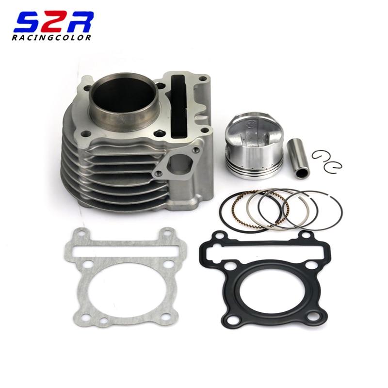 Motorcycle Engine 52mm Suite Cylinder Kit Piston Kit Cylinder Gasket for Yamaha ZUMA125 YW125 BWS125 Nxc