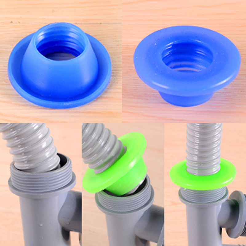 1pcs Pipeline Deodorant Silicone Ring Water Pipe Against Stench Insect-resistant Pest Control Seal Washer Tank Sewer Drain Plug