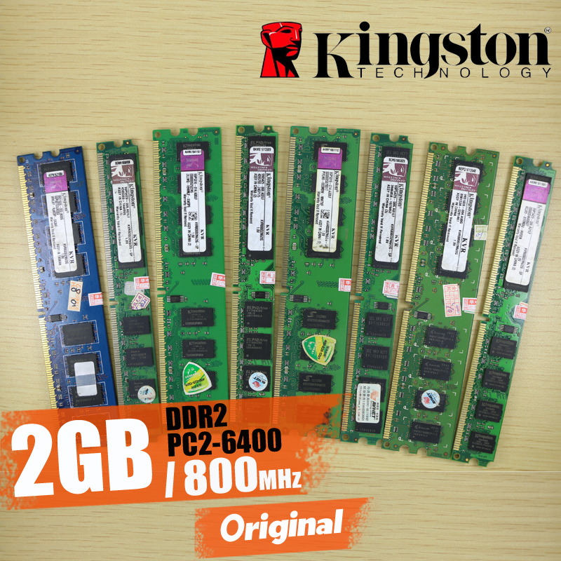 все цены на kingston Desktop memory 2GB 2G 800MHz PC2-6400 DDR2 PC RAM 800 6400 2G 240-pin KVR800D2N6/2G  sell 1G 2G 4G 8G 1333MHz 1600MHz