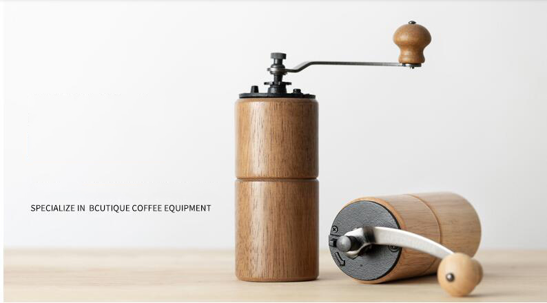 Manual Coffee Mill Wooden Manual coffee grinder Bean Pepper Spice Nuts Grinding Mill Hand Italian Coffee Grinders Machine