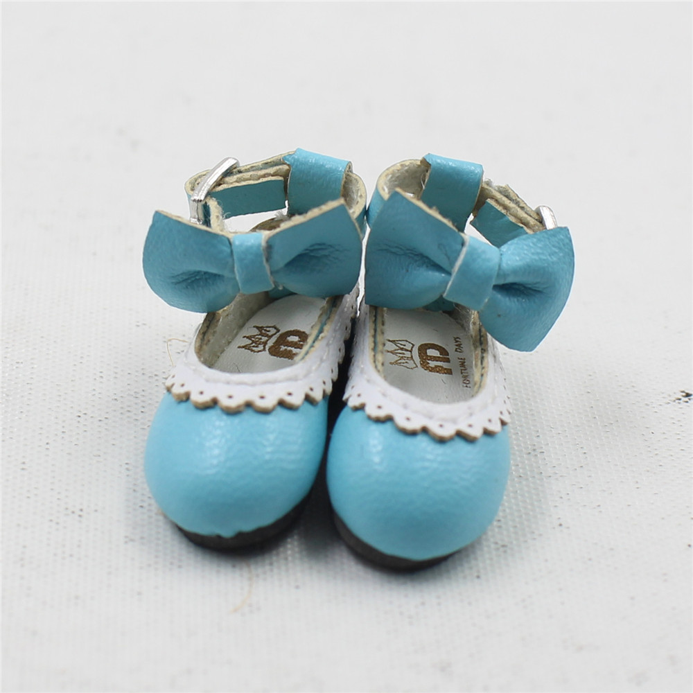 Neo Blythe Doll Designer Shoes with Bow 16