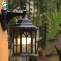 LED Porch Wall Light Vintage Waterproof Sconces for Exterior Wall Lamps Outside Balcony Gate Street Patio House Outdoor Lighting