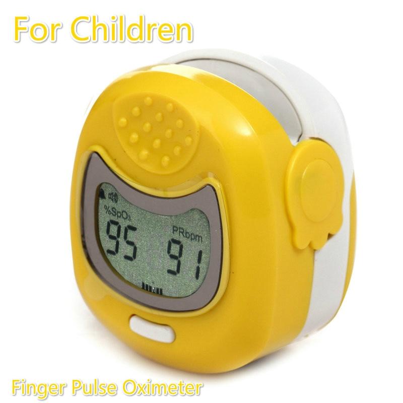 ФОТО LCD Screen Fingertip Pulse Oximeter for Children Spo2 Monitor Kid Finger Pulse Oximeter PR PI Oximetro de dedo Digital