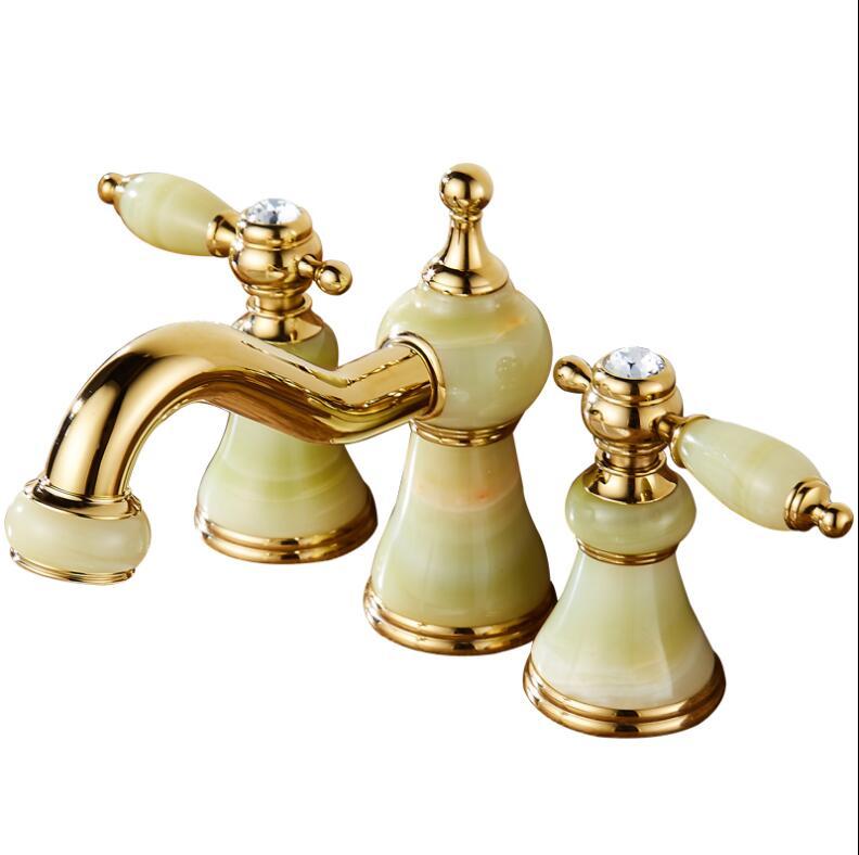 luxury 3 piece set faucet bathroom basin faucet mixer deck mounted sink tap basin toilet faucet. Black Bedroom Furniture Sets. Home Design Ideas