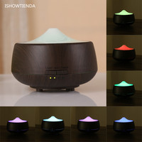 LED Humidificador De Aire Color Changing Aroma Diffuser Essential Oil Ultrasonic Air Humidifier Purifier Atomizer