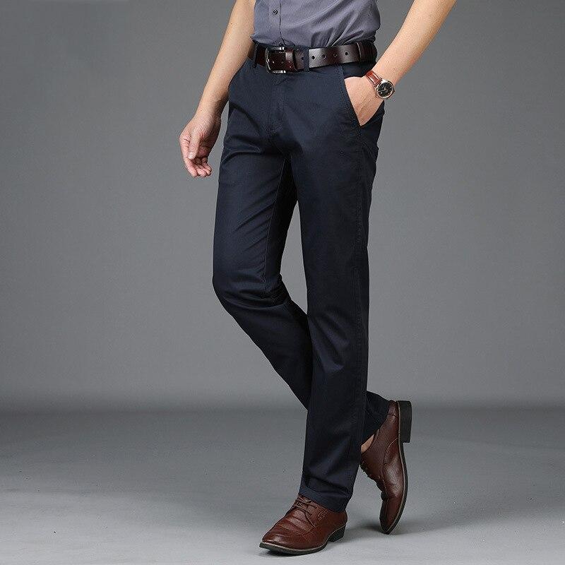 Coton 42 army Hommes Green Marque dark kaki Polyester Automne Droit Noir Casual Taille rouge Lâche Mid taille Homme 29 Pantalon Grande Blue wP7PgxU